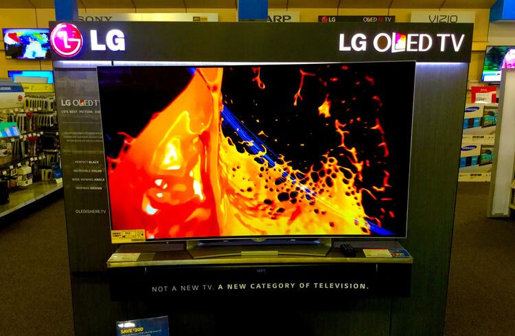 LG oled televisio